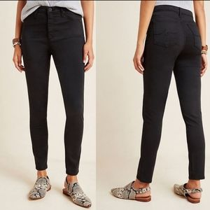Adriano Goldschmied High Rise Sateen  Skinny Jeans